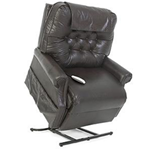 Heritage Collection, 2-Position, Full Recline, Chaise Lounger Lift Chair, LC-358XXL - This LC-358XXL Lift Chair from the Heritage