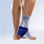 Elastic Ankle and Heel with Silicone Heel Supports - In cases of pain or inflammation in the Achilles tendon (e.