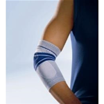 Elastic Elbow with Silicone Epicondyle Pads - Tennis elbow or golfers elbow can cause irritation and pain
