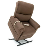Specialty Collection, 3-Position Full Recline, Chaise Lounger LC-105 - Engineered furniture grade laminate / hardwood frame