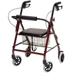 Walkabout Imperial Hemi Four Wheel Rollator - PRODUCT HIGHLIGHTS
